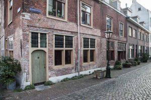 Leiden Beschuitsteeg en Leiden American Pilgrim Museum