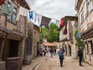 Puy du Fou, Middeleeuws dorpje